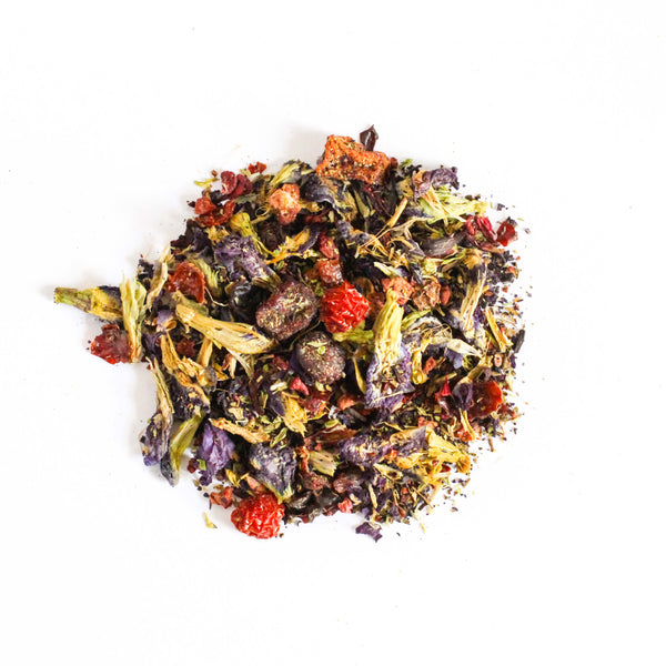 Organic Fruit Tea  <br> TWISTED WATERMELON <br> Caffeine-Free Fruit Tea, Loose Leaf, Little T, Big T NYC