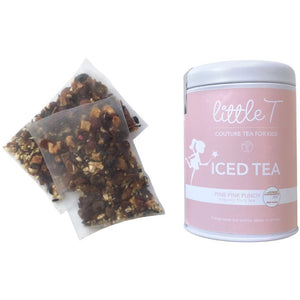 Organic Fruit Tea  <br> PIXIE PINK PUNCH  <br> Iced Tea, Cold Brew Iced Tea, Little T, Big T NYC