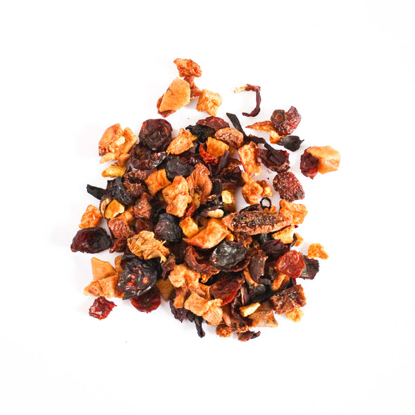 Organic Fruit Tea  <br> PIXIE PINK PUNCH  <br> Caffeine-Free Immune Boosting Tea, Loose Leaf, Little T, Big T NYC