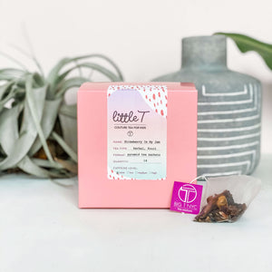 Organic Fruit Tea  <br> STRAWBERRY IS MY JAM <br> Tea Sachets, TEA SACHETS, Little T, Big T NYC