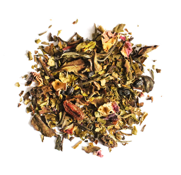 Organic White Tea <br> TELL-TALE GLOW <br> Beauty Tea, Loose Leaf, Big T NYC, Big T NYC