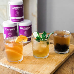 Organic White Tea <br> TELL-TALE GLOW <br>Cold Brew Iced Tea, Cold Brew Iced Tea, Big T NYC, Big T NYC
