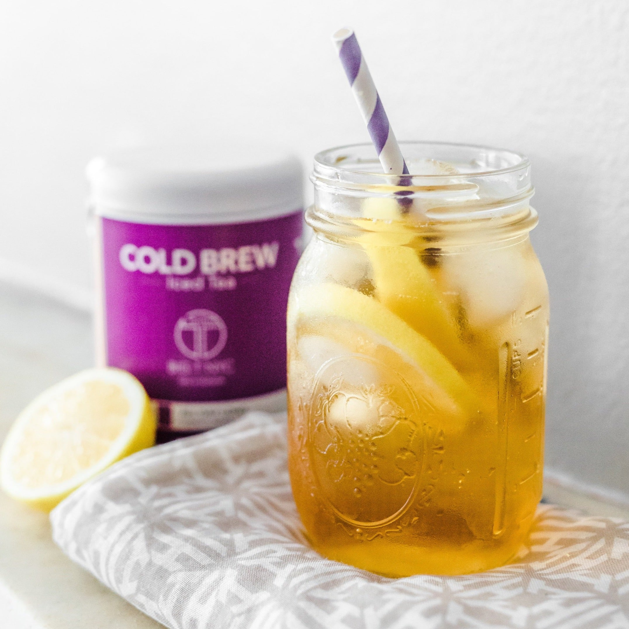 d92703267 Big T NYC White Tea with Superfruits TELL-TALE GLOW Cold Brew Iced Tea