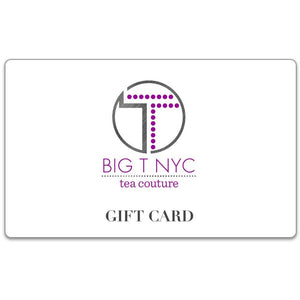 Gift Card, Accessories, Big T NYC, Big T NYC