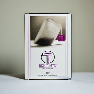 Biodegradable Drawstring Tea Filters, Accessories, Big T NYC, Big T NYC