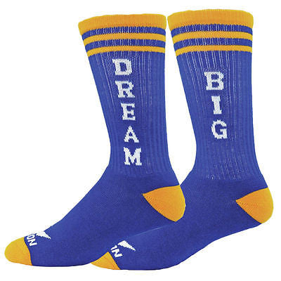 NEW RED LION DREAM BIG CREW SPORTS LACROSSE BASKETBALL VOLLEYBALL SOCKS