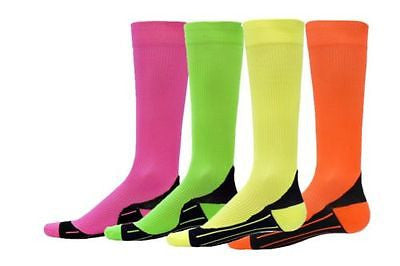 NEW RED LION NEON GLIDE COMPRESSION SOCKS SOCCER BASKETBALL VOLLEYBALL LACROSSE
