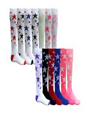 NEW RED LION STARS SPORTS ATHLETIC SOCCER VOLLEYBALL BASKETBALL KNEE HI SOCKS