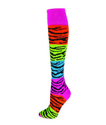 NEW RED LION RAINBOW TIGER KNEE HIGH SPORTS SOCKS SOCCER BASKETBALL VOLLEYBALL