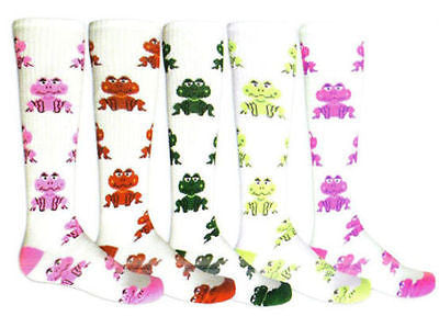 NEW RED LION FROGGY SPORTS SOCCER BASKETBALL VOLLEYBALKNEE HIGH ATHLETIC SOCKS