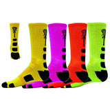 NEW RED LION STINGER 2 CREW SPORTS LACROSSE SOCKS
