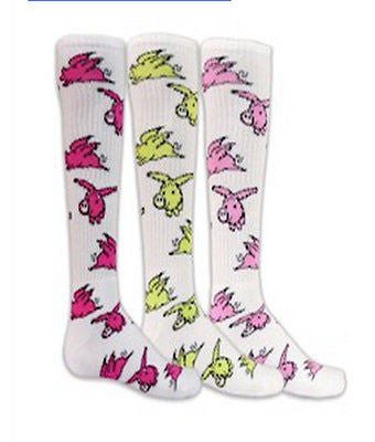 NEW RED LION FLYING PIGS KNEE HIGH ATHLETIC SOCKS SOCCER BASKETBALL VOLLEYBALL