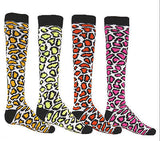 NEW RED LION LEOPARD KNEE HIGH SOCKS SOCCER BASKETBALL VOLLEYBALL LACROSSE