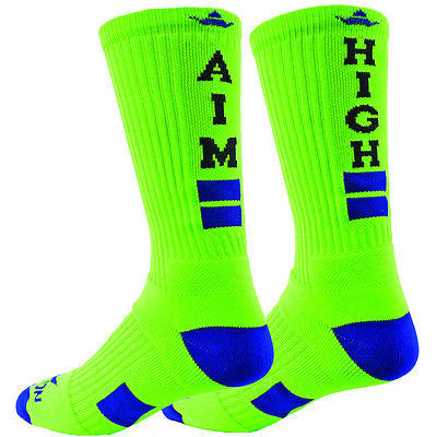 NEW RED LION AIM HIGH  CREW SPORTS LACROSSE BASKETBALL VOLLEYBALL SOCKS