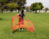 POWERNET ROUND POP UP SOCCER PORTABLE GOAL 4x6