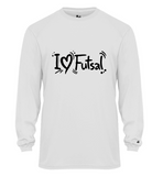 LONG SLEEVE I LUV FUTSAL SHIRT JERSEY JUNIOR