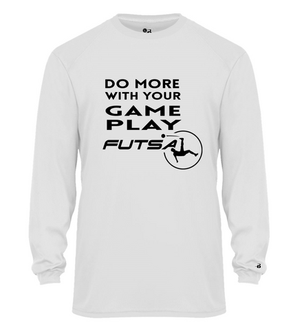 LONG SLEEVE DO MORE FUTSAL SHIRT JERSEY ADULT