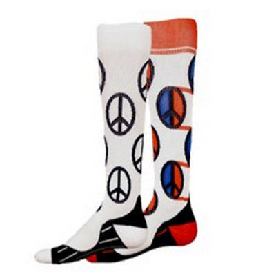 NEW RED WORLD COMPRESSION SOCKS SOCCER BASKETBALL VOLLEYBALL LACROSSE