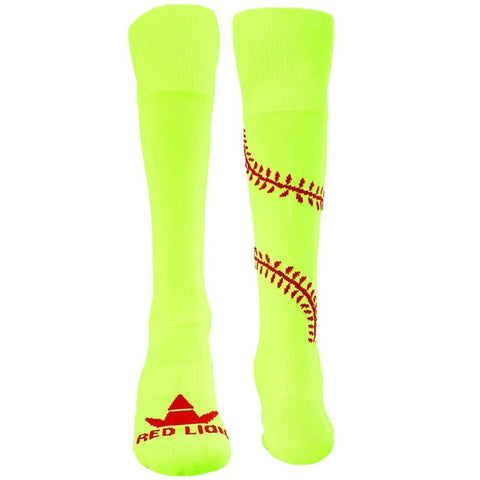 RED LION PLAY BALL BASEBALL SOFTBALL SOCK FAST PITCH SLOW PITCH  ATHLETIC