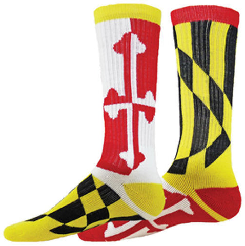 NEW RED LION FLAG RED WHITE YELLOW BLACK CREW SOCKS BASKETBALL VOLLEYBALL