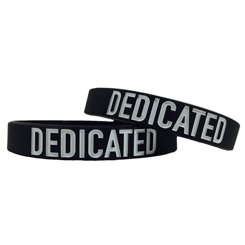 Dedicated Motivational Wristband