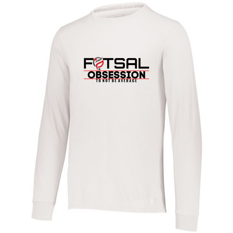 FUTSAL OBSESSION LONG SLEEVE TEE - FUTSAL WEAR, INSPIRATIONAL WEAR