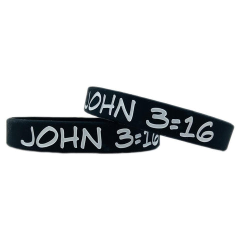 John 3:16 Motivational Wristband