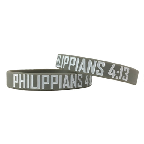 Philippians 4:13 Motivational Wristband