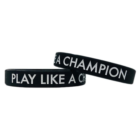 Play Like A Champion Motivational Wristband