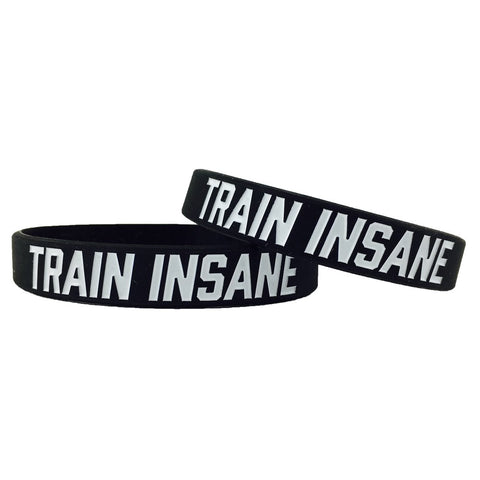 Train Insane Motivational Wristband