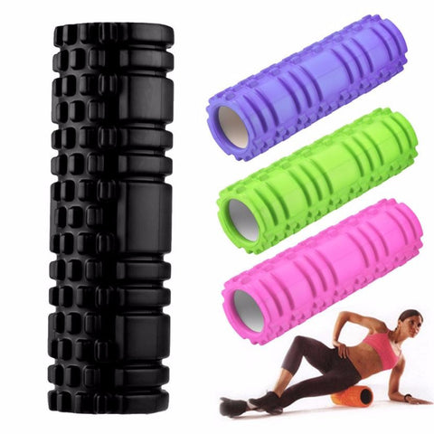 EVA Point 30.5x15cm Foam Yoga Roller Multicolor Gym High Density Trigger Point Massage Fitness Sport  Yoga Block 4 Color #EW