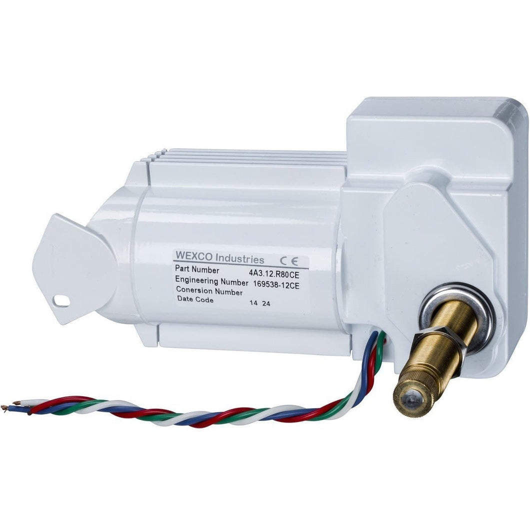 4A3.24.R110DCE Wexco Sealed Marine Wiper Motor: Three and a half inch (3.5