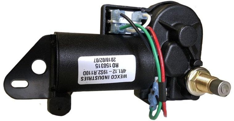 "4R3.12-19S2.R110D - Two and a half inch (3.5"") shaft, 12V With Two-Speed Switch Installed - AutoTex"