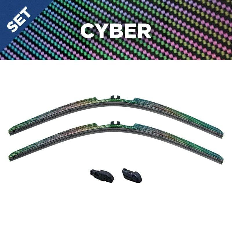 CLIX Cyber Precison Fit Click-on Wiper Blades - 24