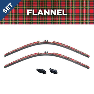 "CLIX Flannel Precision Fit Two Pack - 24""22""X3 - AutoTex"