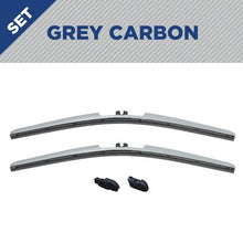 "Load image into Gallery viewer, CLIX Grey Carbon Precision Fit Click-on Wiper Blades - 28""18 - AutoTex"