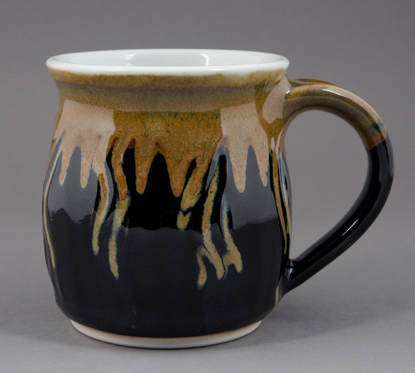 Large Rutile and Black Black Signature Mug
