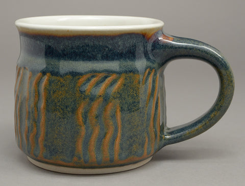 Rusty Blue Signature Mug