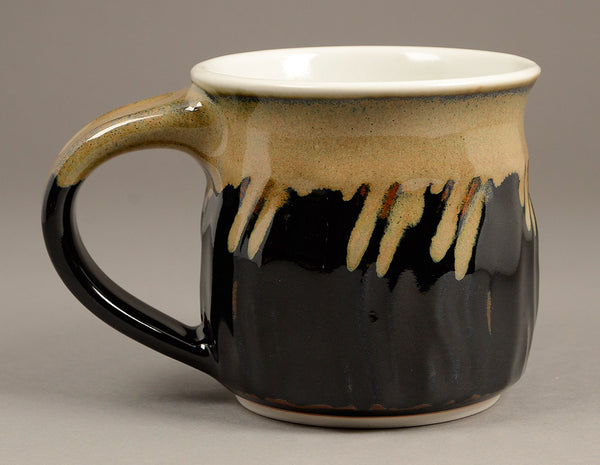 Medium Black and Tan Signature Mug
