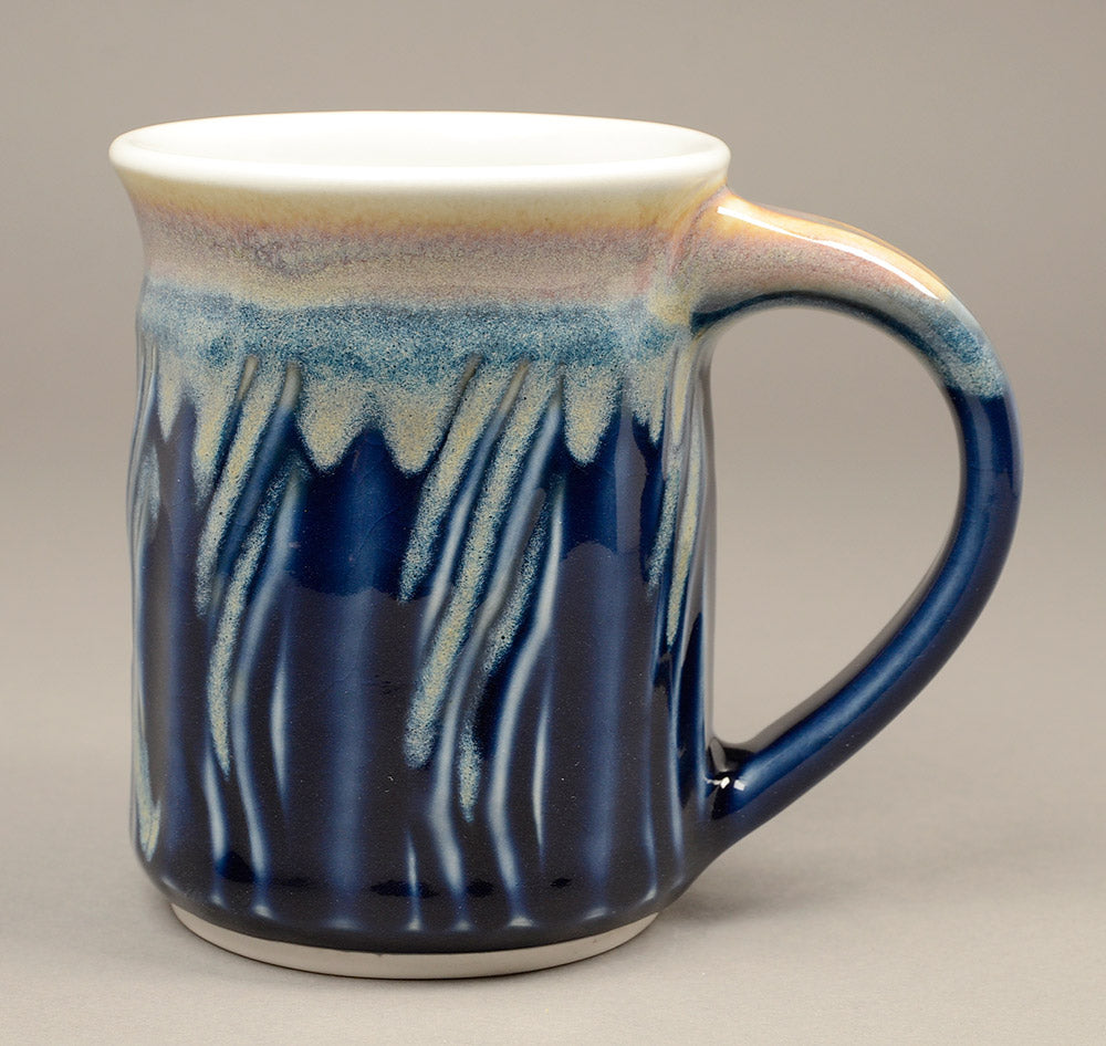 Tall Skinny Blue Tone Signature Mug