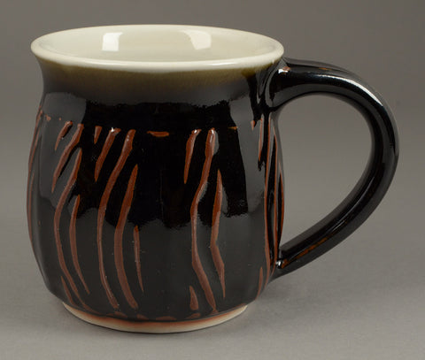 Large Black Signature Mug