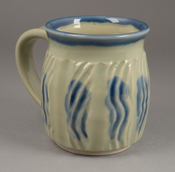 Large Celadon with Blue Accents Signature Mug