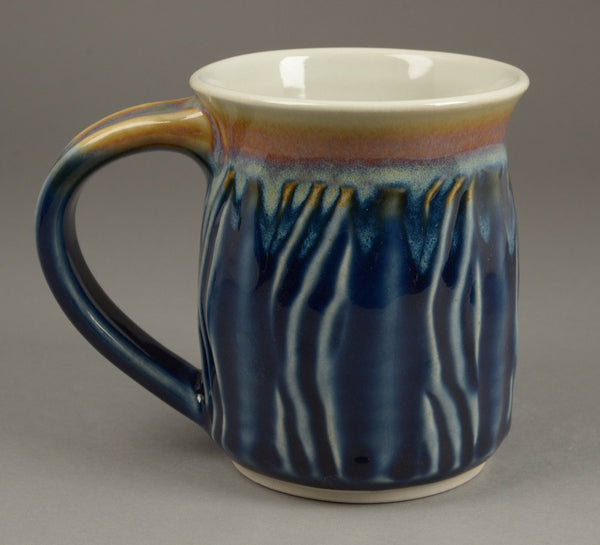Tall Skinny Blue Signature Mug