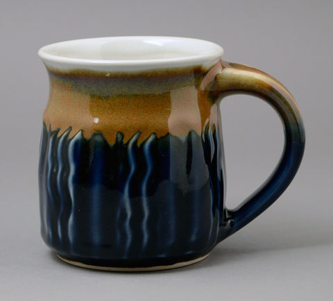 Medium Rutile-Blue Signature Mug