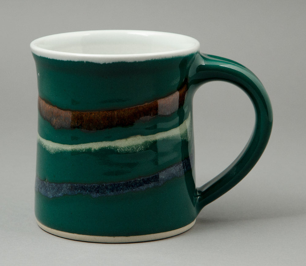 Large Forest Green Signature Mug