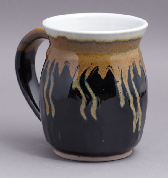 Really Large 21 oz. Black/Gold Mug