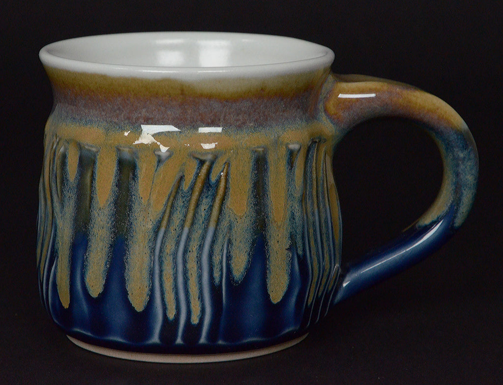 Yellow/Blue Signature mug
