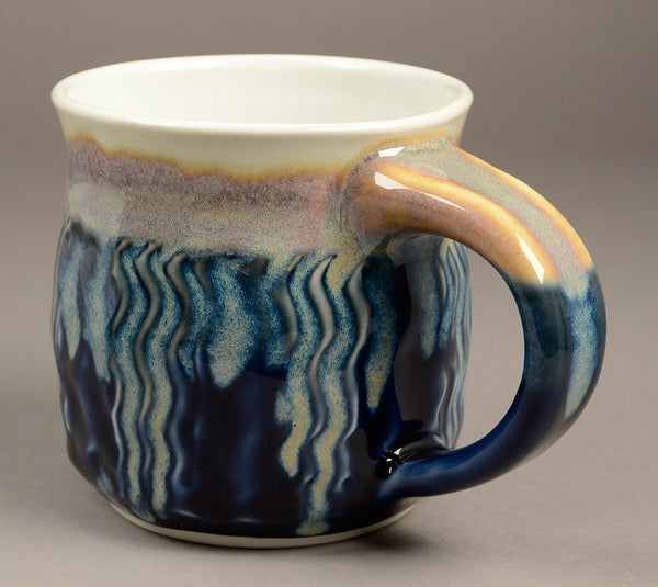 Large Blue Signature Mug