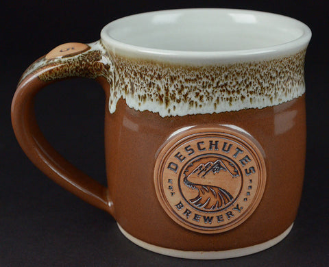 Custom Logo Mug with Thumb Rest