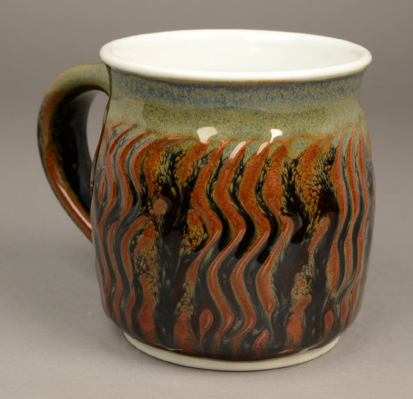 Large Pond Glaze Signature Mug